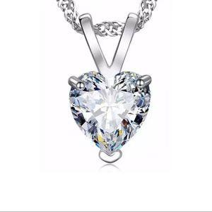 DIAMONELLE HEART NECKLACE